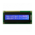 LCD 16X2 ใช้ไฟ 5 VOLT สีฟ้า