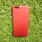 TPU Red (ไม่โชว์โลโก้) iphone6 plus/6s plus