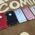PC ประกบหัวท้ายโครเมี่ยม iphone5/5s/se