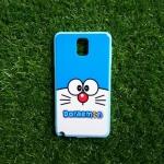 TPU ลายเส้นนูนแมวสีฟ้าตาโต Note3