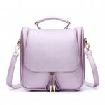 BG_2873 (pre-order) กระเป๋าถือพร้อมสายสะพายข้าง Grape Purple, June, 2016, Bag, ~1000-1999