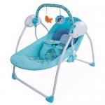 เปลไกวไฟฟ้า Primi รุ่น Little swing 1 (รุ่นมาตราฐาน) สีฟ้า