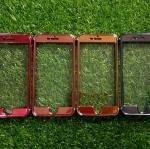 TPU ประกบหน้าหลังโครเมี่ยม iphone6 plus/6s plus