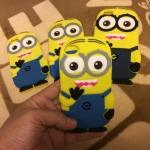ซิลิโคนตูนสีเหลือง iphone5/5s