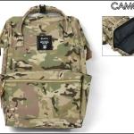 กระเป๋า Anello ขนาดปกติ Standard สี Camo Khaki ลายทหารสีอ่อน ของแท้ นำเข้าจากญี่ปุ่น พร้อมส่ง