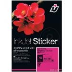 I.J. InkJet Glossy Sticker 85 Gsm. (A4/30 Sheets)