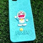 ซิลิโคนตูนแมวสีฟ้านูน iphone6 plus/6s plus