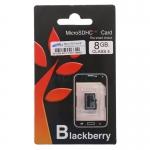 Micro SD Blackbery 8GB Class4
