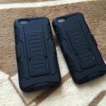 เคสเหน็บเอวกันกระแทก 3in1 iphone4/4s