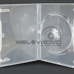 1 Disc DVD Case Clear (10 Boxs)
