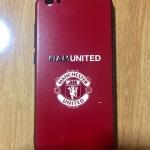 TPU ลายเส้นนูน iAm United สีแดง VIVO V5(Y67)/V5S/V5 Lite(ใช้เคสตัวเดียวกัน)