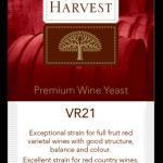 Vintner's Harvest VR21