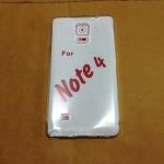TPU ใส 0.5 (ใช้กับงานสรีนได้) Note4