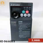 ขาย Inverter Mitsubishi Model:FR-E720-015-NA (สินค้าใหม่)
