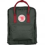 กระเป๋าเป้ Fjallraven Kanken Classic สี Forest Green & Ox Red พร้อมส่ง
