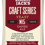Empire Ale M15 10g. x 12packs