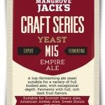 Empire Ale M15 10g. x 12packs