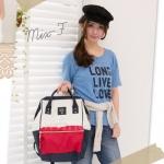 กระเป๋า Anello ขนาดปกติ Standard สี Tri color (F) ของแท้ นำเข้าจากญี่ปุ่น พร้อมส่ง
