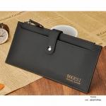 กระเป๋าสตางค์ผู้ชาย ทรงยาว BOGESI รุ่น Long - สีดำ