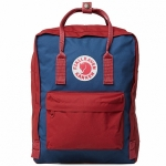 กระเป๋า Fjallraven Kanken Classic สี Royal Blue and Ox Red สีน้ำเงิน สายสะพายแดง พร้อมส่ง