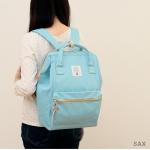 กระเป๋า Anello ขนาดปกติ Standard สี Sax ฟ้าอ่อน ของแท้ นำเข้าจากญี่ปุ่น พร้อมส่ง