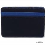 กระเป๋าสตางค์ผู้ชาย แบบหนีบแบงค์ Stable Magic Money Clip - สีดำ น้ำเงิน