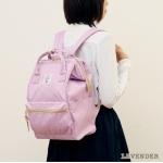 กระเป๋า Anello ขนาดปกติ Standard สี Lavender ม่วงอ่อน ของแท้ นำเข้าจากญี่ปุ่น พร้อมส่ง