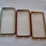 TPU ขอบโครเมี่ยม iphone7 plus/iphone8 plus(ใช้เคสตัวเดียวกัน)