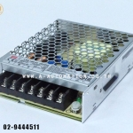 POWER SUPPLY MEAN WELL MODEL:LRS-100-24