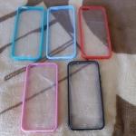 TPU ใสขอบสี iphone4/4s