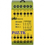 PilZ 774315 PNOZ X3 115VAC 24VDC 3n/o 1n/c 1so aT www.PILZ.TK