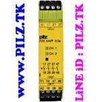 777580 PILZ PZE X4VP 0.5/24VDC 4n/o fix LiNE iD PILZ.TK