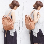 กระเป๋า Anello แบบหนัง PU ขนาดเล็ก mini สีชมพู Pink ของแท้ นำเข้าจากญี่ปุ่น พร้อมส่ง