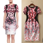 DR_8028, Premium Dress, Karen Millen, Aug, 2015, Red, S-XXL, ~2000-2999, เดรสแบรนด์ตัดป้าย