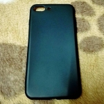TPU Black iphone7 plus/iphone8 plus(ใช้เคสตัวเดียวกัน)