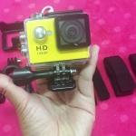 Sport Cam Full HD 1080p (กันน้ำได้ลึก 30เมตร)