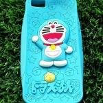 ซิลิโคนตูนแมวสีฟ้านูน iphone5/5s/se