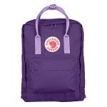 กระเป๋าเป้ Fjallraven Kanken Classic สีม่วง &สายสะพายม่วงอ่อน Purple & Violet สีใหม่ล่าสุด 2016