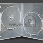 2 Disces DVD Case Clear (10 Boxs)