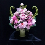 Flower-Hanabana ใหญ่ 58ซม (ส) x 48ซม (ก)
