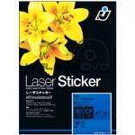 I.J. Laser Clear PET Sticker 50 Micron (A4/10 Sheets)