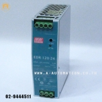 POWER SUPPLY MEAN WELL MODEL:EDR-120-24 ยึดราง