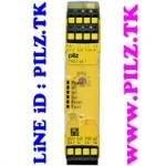 751154 PILZ PNOZ S4.1C 48-240VACDC 3n/o 1n/c LiNE iD PILZ.TK