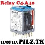 C4-A40/AC230V Comat Releco Relays 4 C/O LiNE iD PILZ.TK