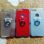 TPU กากเพชร (มีเเหวนตั้งได้) iphone7 plus/iphone8 plus(ใช้เคสตัวเดียวกัน)