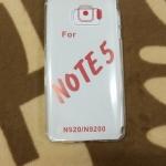 TPU ใส 0.5 (ใช้กับงานสรีนได้) Note5