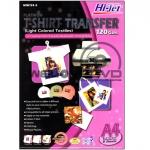 Hi-jet T-SHIRT TRANSFER FOR LIGHT COLORED (A4/10 Sheets)
