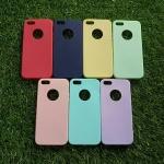 TPU สีทึบ 0.18 บางเฉียบ iphone5/5s