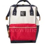 กระเป๋า Anello ขนาด mini สี Tri color ของแท้ นำเข้าจากญี่ปุ่น พร้อมส่ง