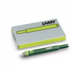 Lamy T10 Special Edition Charged Green Ink cartridges